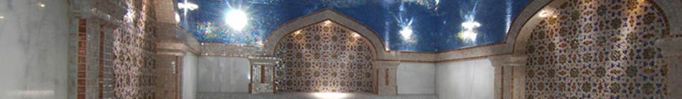 Интерьеры турецких бань